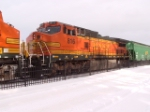 BNSF 816 C40-8W roster shot while waiting for helpers