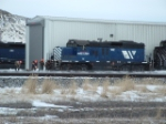 MRL 132 GP9 waiting for switch to be cleared