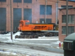 BNSF 3704 MP15 in a bad shot, but this is after the fresh paint