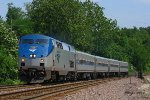 Westbound Amtrak Missouri River Runner Train #311