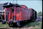 NYSW Caboose 0112 on the Lodi branch