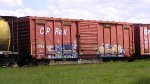 Only reason there are CP cars on CN in north west Ontario is the CP strike.