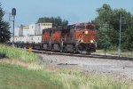 BNSF Stacks By the Signals