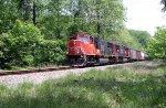 CN 5621 leads CSX train K497-11