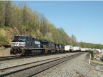 NS 9391 Leads a Westbound Intermodal