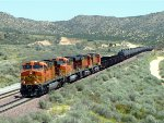 Ethanol Train Descending Cajon Pass
