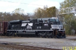 NS 2662 leads train 56 past 32nd st.