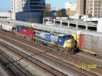 CSX train R605 heads towards CSX Boyles yard