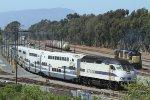 SCAX 891 departs the Stuart Mesa maintenance facility near Camp Pendleton