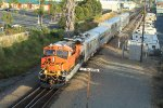 BNSF VIP (Muckety-Muck) Special heads north back to LA