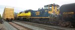 CSX #1151 and NYS&W #3810