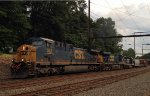 CSX CW44AH 558 leads an all YN3 Q410-27