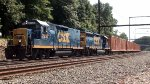CSX Road Slug 2230 leads Q706-29