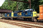 CSX GP40-2 6457 and Road Slug 2230 on Q706-29