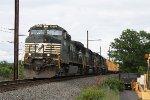 NS C40-9W #9650 on 17G