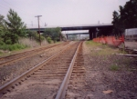 Former Bergen Line, just prior to abandonment