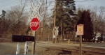 Private crossing on the Morristown Line, on Old Turnpike Road