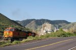 BNSF 4675 Building The Beer Train At Coors Brewery