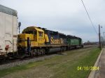 BNSF 8721 brings up rear on NS train 270