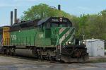 FURX 7266 leads NS 270 (Bnsf yard to Lincoln, AL Honda Plant)