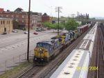 CSX Train 678 heads south