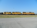 UP 2358(SD60M) 2017(GP38-2) 2029(GP38-2)