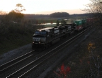 NS 9479 I0N at sunset