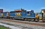 CSX 6108 brings up the rear.