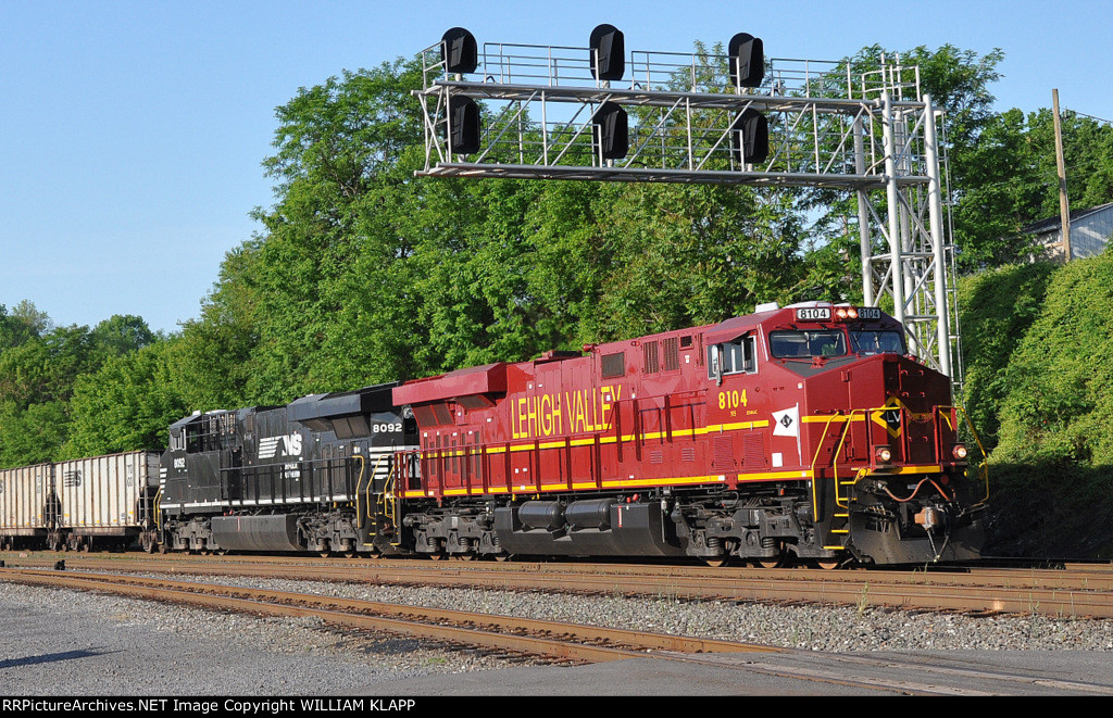 NS 591 NS 8104 Leigh Valley Heritage Engine