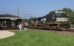 NS C40-9W #9753 on 18G