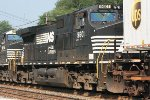 NS C40-9W #9601 on 21M
