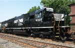 NS SD40E #6340 on 921