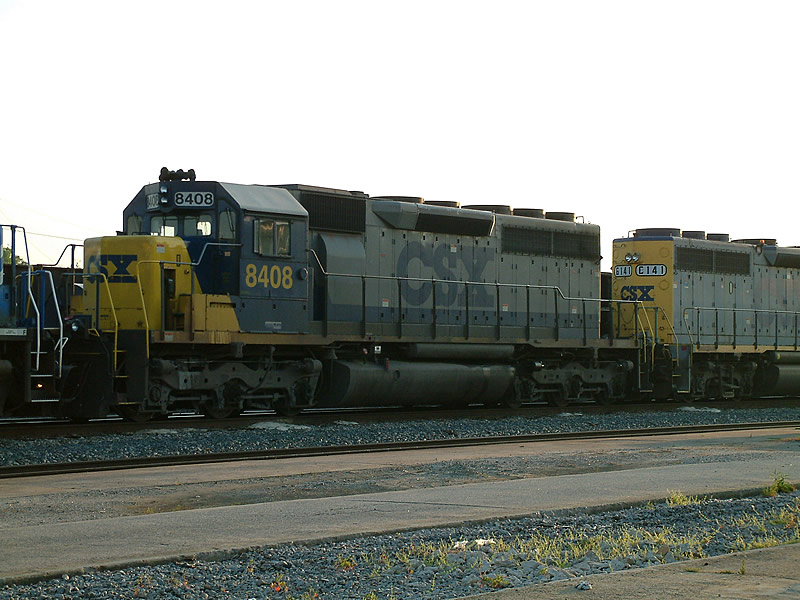 Former C&O SD40 is now a SD40-2