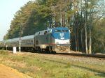 Amtrak Train #90 splits the signals