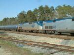 Amtrak engine #2 on #89