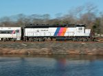 Pan Shot of NJT 4211 on the NJCL