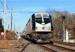 NJT 4029 on Passing Alongside Railroad Ave.