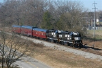 NS 5647, NS 5648, NS 5 Maryland, NS 24 Delaware, NS 23 Buena Vista - Train 951, OCS
