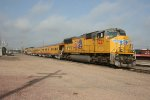 Union Pacific 5227 w. Operation Lifesaver