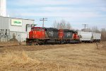 CN 5266 on Fort Saskatchewan industrial lead