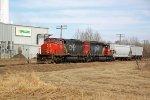 CN 5266 on Fort Saskatchewan industrial lead