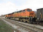 BNSF 6174 & 5733