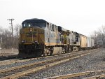 CSX 5499 & 82 slowly roll up the Even Lead with Q335