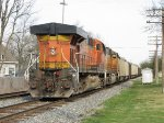 BNSF 6060 & 9885 ride along at the rear on N956-20
