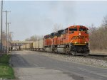 A matched pair of BNSF ACe's lead N956-20 with coal for Essexville