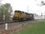 CREX 9030 leads G010 east at milepost 148