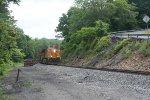 It orange BNSF 5165