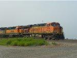 BNSF ES44AC 5788 & BNSF GP39-2 2797