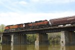 BNSF 982 in HI and BNSF 4032 are the DPU motors on the grain train