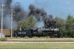 Frisco 1630 In Action at Illinois Railway Museum (Union, Illinois)